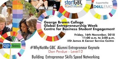 GBC Centre for Business Global Entrepreneurship Week Student Engagement