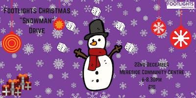 Footlights Christmas Snowman Drive