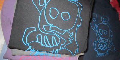 Screenprinting for Kids (ages 3-8 accompanied by an adult)