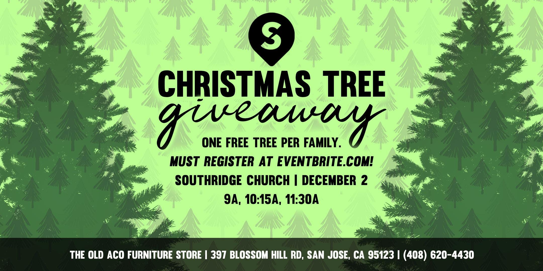 Southridge Christmas Tree Giveaway--Dec