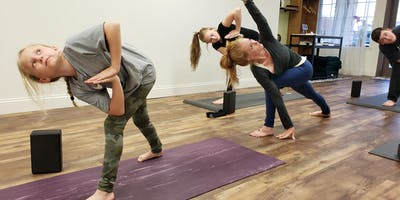 Mother/Daughter Yoga