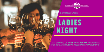 Ladies Night - An Evening of Wine and Fashion