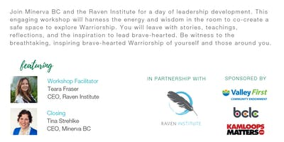 Warriorship: Leading Brave-Hearted (presented by Valley First Community Endowment)