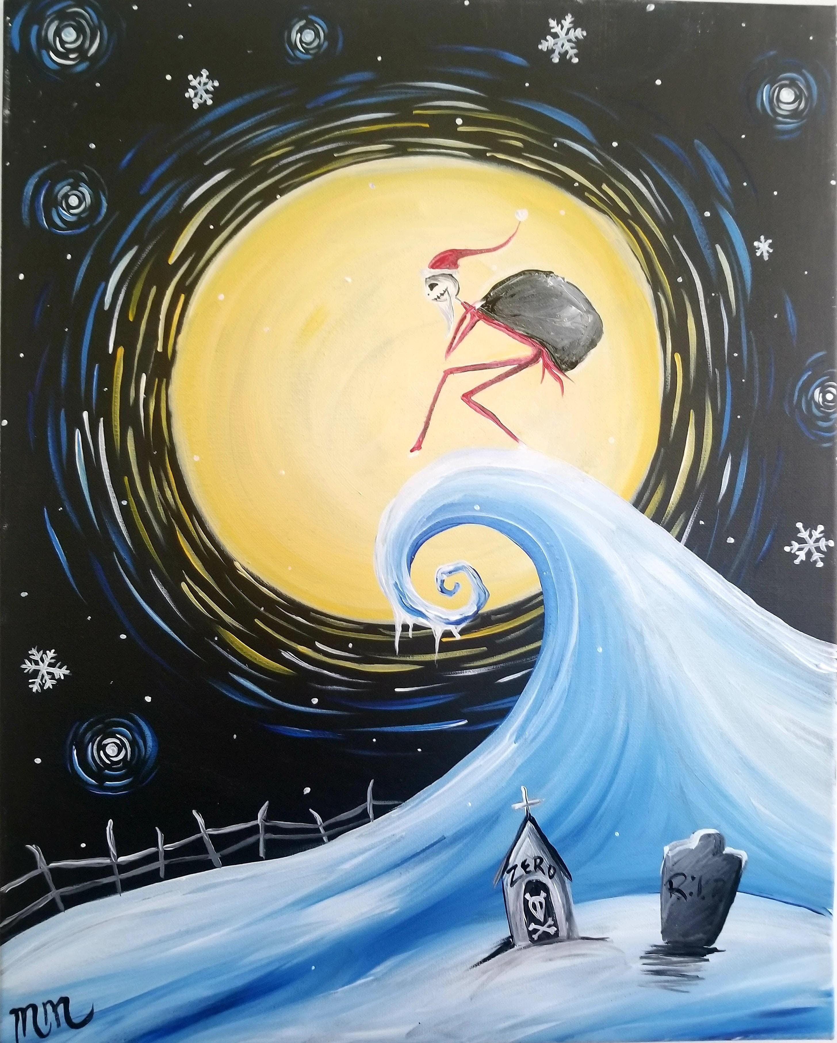 Twas the Nightmare Before Christmas Paint and Pint - 26 NOV 2018