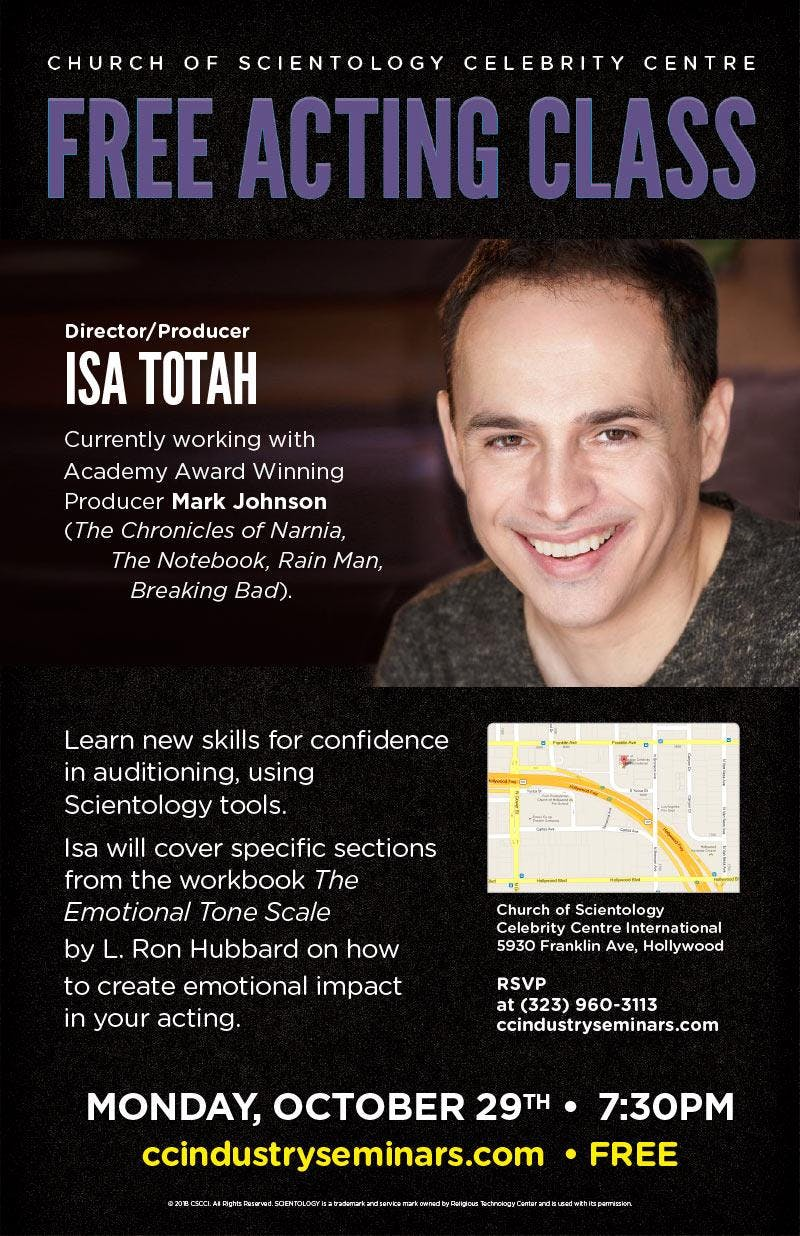 scientology free courses