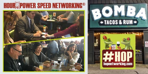 HOP AM Business Speed Networking at Bomba Tacos Fairlawn *Open to all!