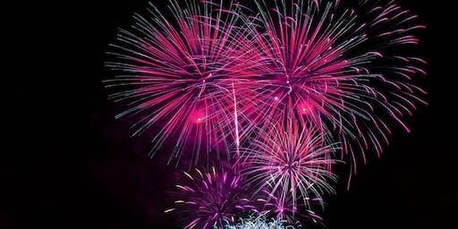 Miami South Beach New Years Eve Firework On A Yacht