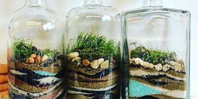 Terrarium Workshop: Upcycled Spirits Bottle BYOB