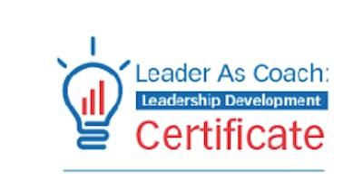 Florida: Leader As Coach: Leadership Development Master Class (BLR)