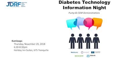 Diabetes Tech Info Session - Kamloops