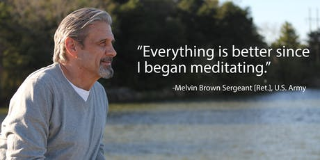 FREE Transcendental Meditation Classes for NYC Veterans tickets