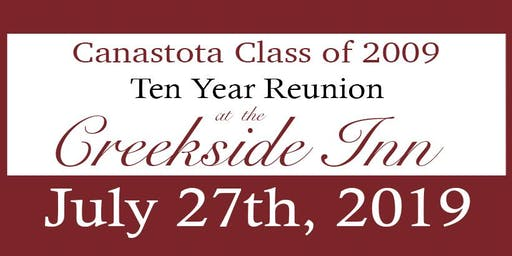 Stota Class of 2009 Ten Year Reunion