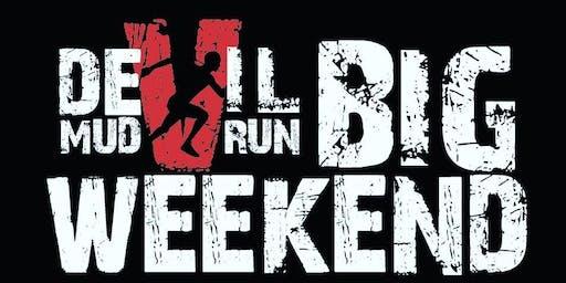 Devil Mud Run BIG WEEKEND Saturday 10K & Ultra