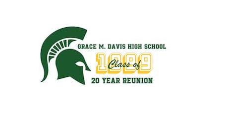 Grace M Davis High School c/o 1999 20 year reunion tickets