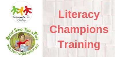 Literacy champions session - Kangaroo Flat 29/11/2018