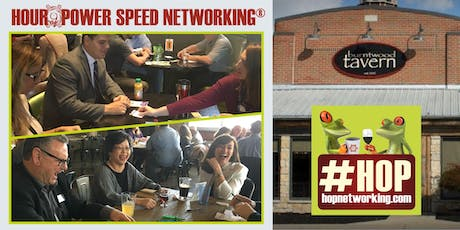 HOP AM Networking at Burntwood Tavern Belden Village - 9-10 AM *Open to all! tickets