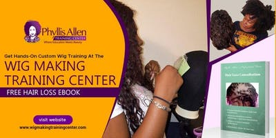 3 Day Lace Wigs, Integration Unit, and  Sewing Machine Wig Certification