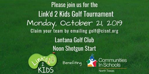 2019 Link'd 2 Kids Golf Tournament