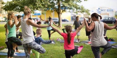 Parent & Child Yoga Class @ Stonesthrow (3+ Years)