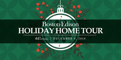 44th Annual Historic Boston-Edison Holiday Home Tour