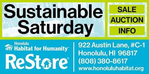 Sustainable Saturday at ReStore 2019