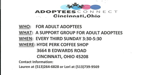 Adoptees Connect Support Group