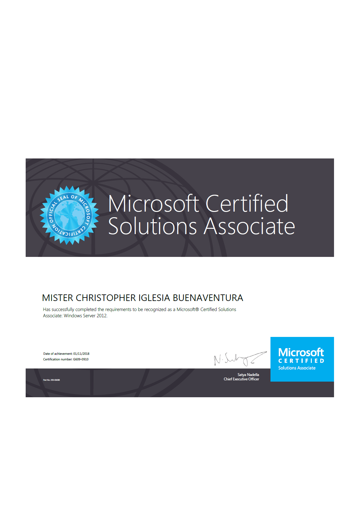 3 In 1 Microsoft Certified Solutions Associate In Windows Server
