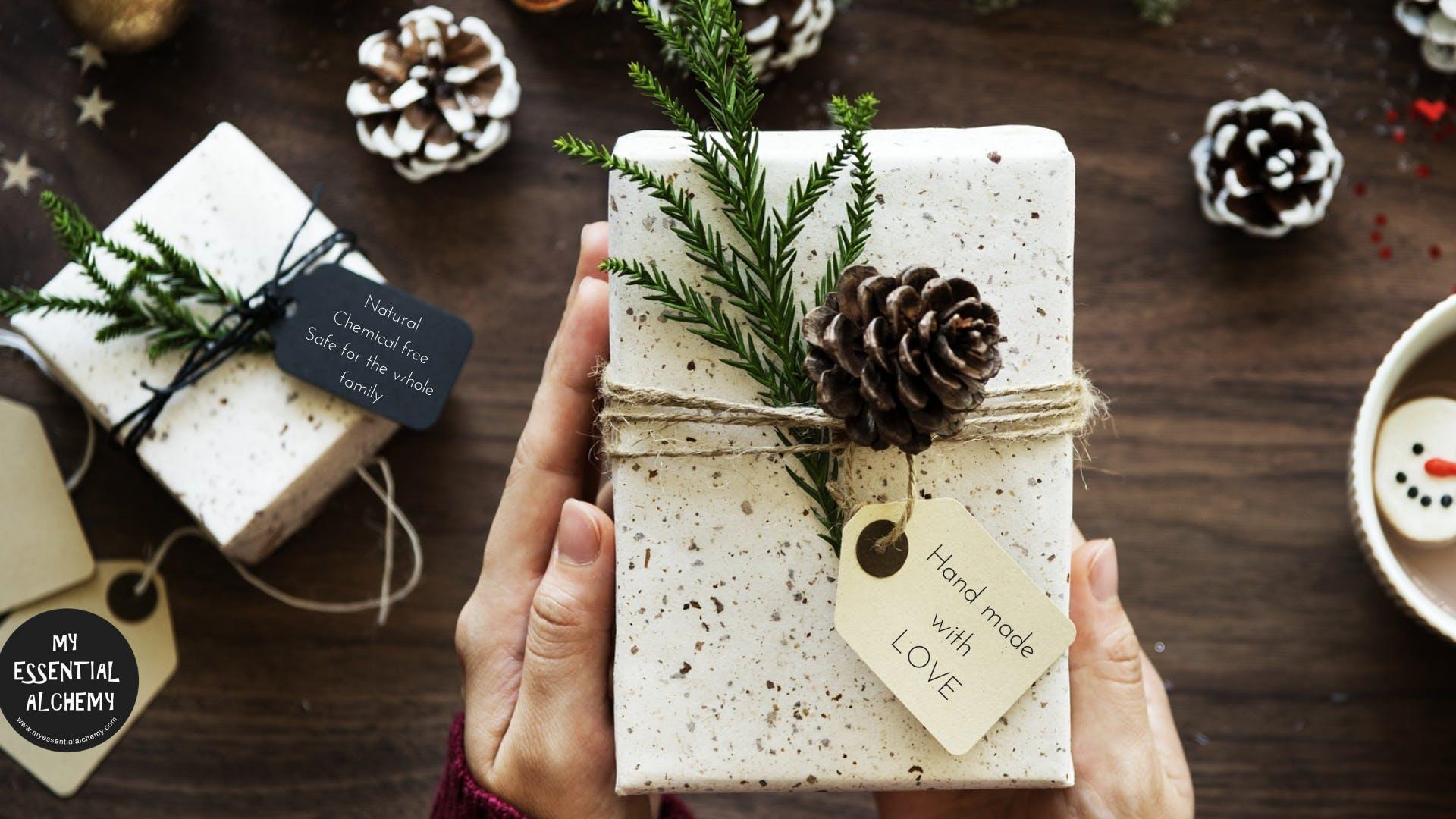DIY Natural Christmas gifts - 1 DEC 2018