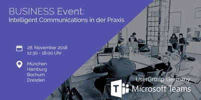 Intelligent Communications in der Praxis am 28.11.2018 in Dresden