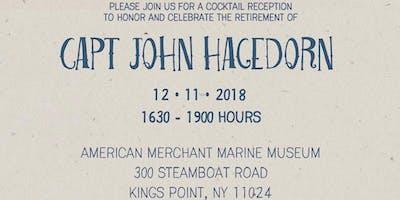 CAPT John Hagedorn Retirement Cocktail Reception