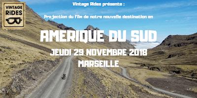 Warm up Marseille Amérique du Sud X Vintage Rides