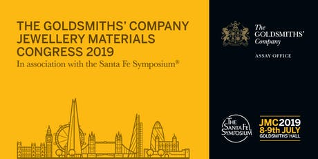 The Goldsmiths' Company Jewellery Materials Congress tickets