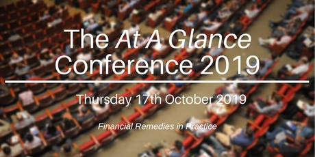 The At A Glance Conference 2019 tickets