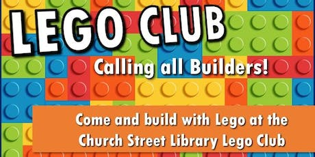 Church Street Library Lego Club tickets