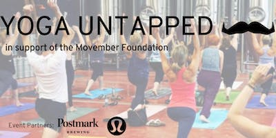Yoga Untapped: presented by the Movember Foundation