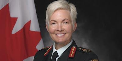Lunch-conférence avec Jennie Carignan, brigadier-généralde la 2e Division du Canada