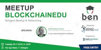 BOLOGNA - BlockchainEdu Meetup #2