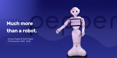 Discover the Humanoid Service Robot Pepper and its Smart Pepper Application