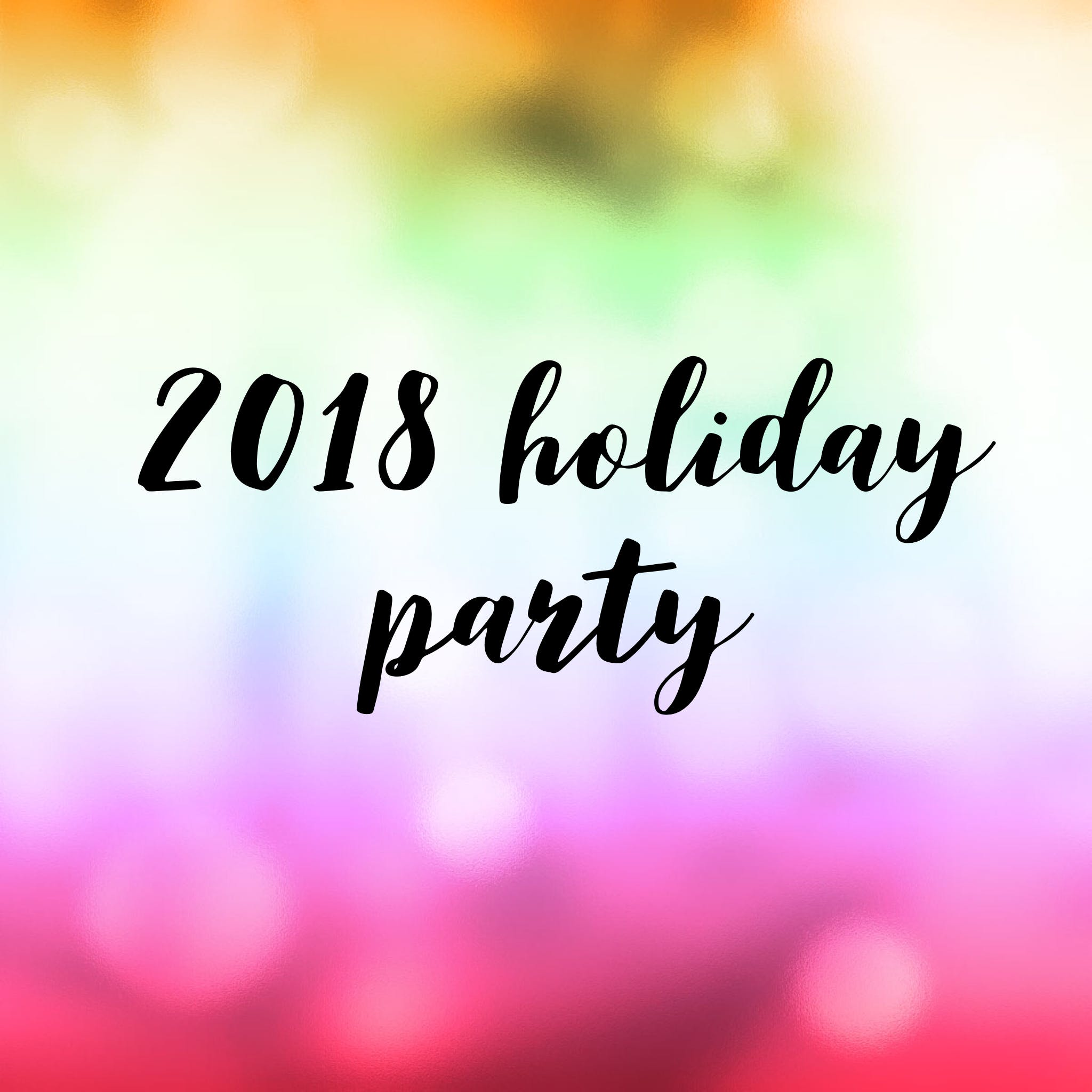 Holiday Party 2018- Managers and Spouses
