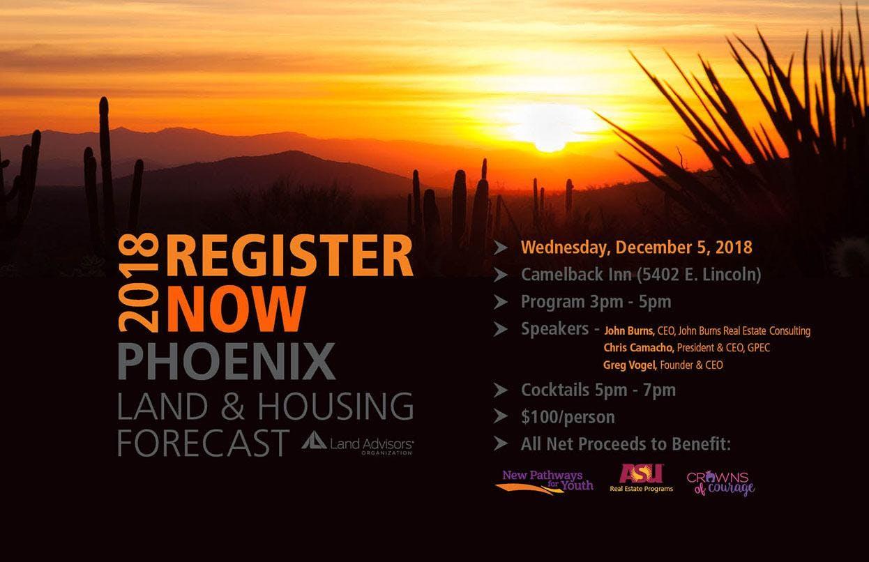 Phoenix Land and Housing Forecast