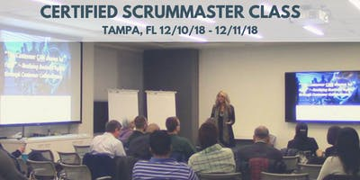 Certified ScrumMaster (CSM) Training Class - in Tampa, FL