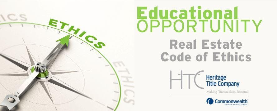 Real Estate Code of Ethics 3 HR CE $35
