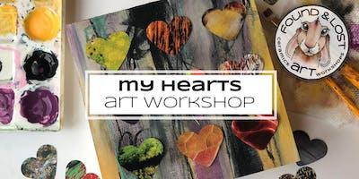 My Hearts art workshop