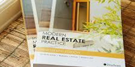 Pre-Licensing August - Practice of Real Estate tickets