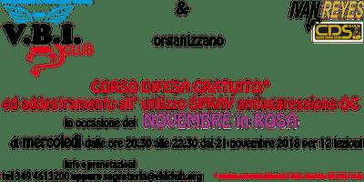 PROGETTO VBI CLUB CORSO DIFESA PERSONALE DONNE