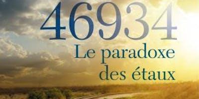 """Dédicace Roman \""""46934 Le paradoxe des étaux\"""" Jean-Michel BARDOU"""