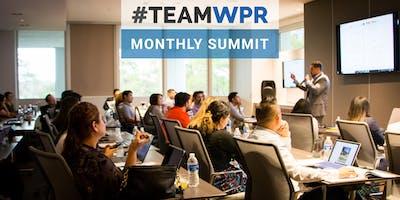 #TeamWPR Monthly Summit // Kickoff to 2019!