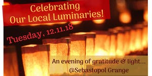 Celebrating Our Local Luminaries! An Evening of...