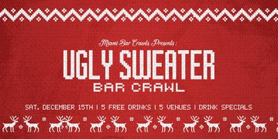 Ugly Sweater Bar Crawl in Brickell