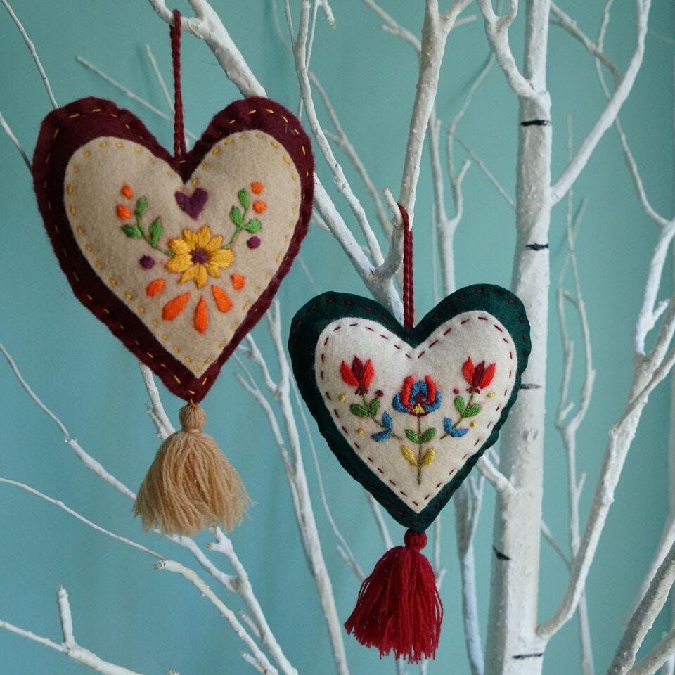 Hungarian Christmas Hearts Workshop